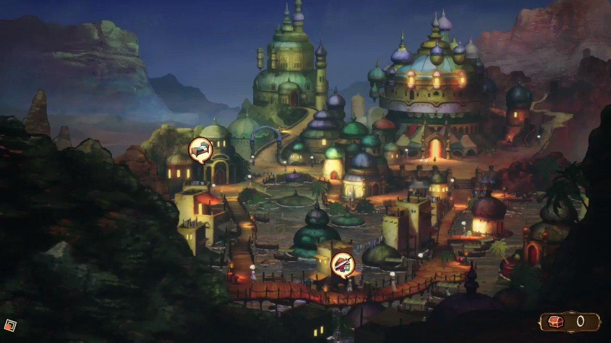 Loving the Aladdin vibes #BravelyDefaultII #NintendoSwitch