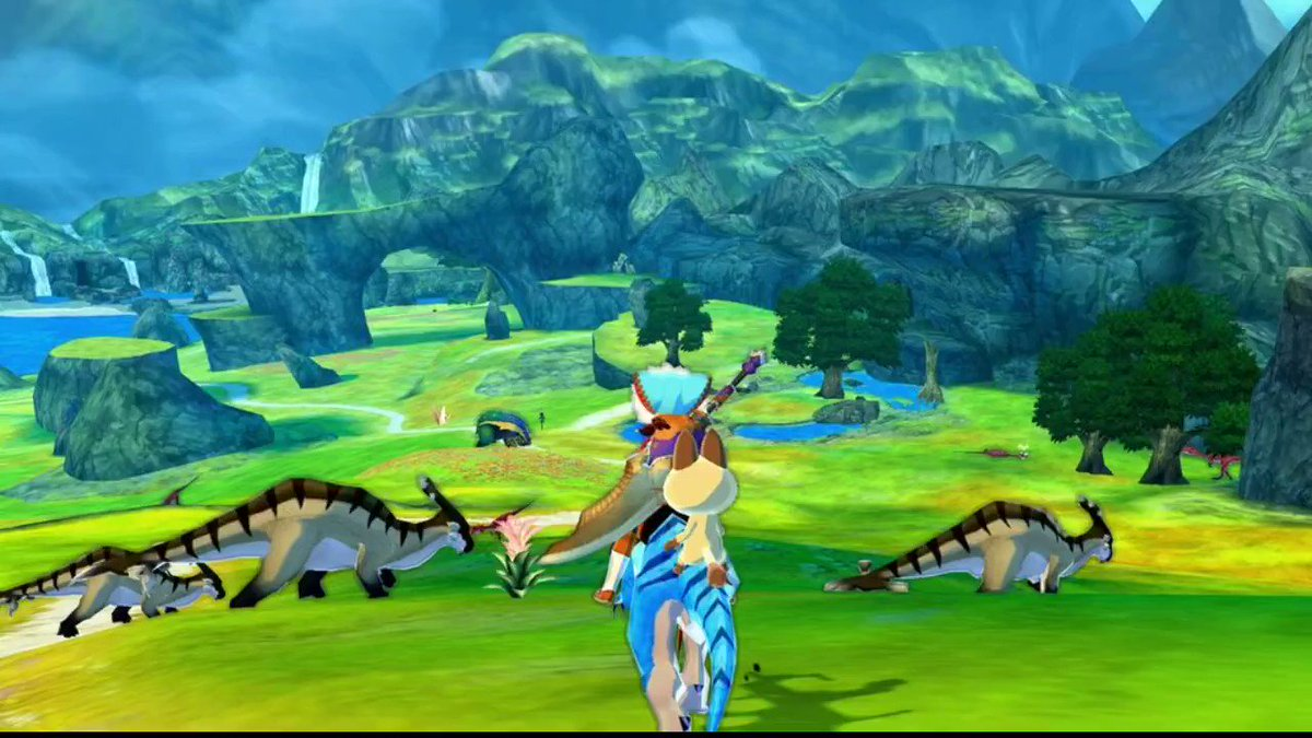 Shadow Lurking In The Grassy Plains - Grassland Area Battle Theme Composer: Marika Suzuki  Debuted in: Monster Hunter Stories   #MonsterHunter