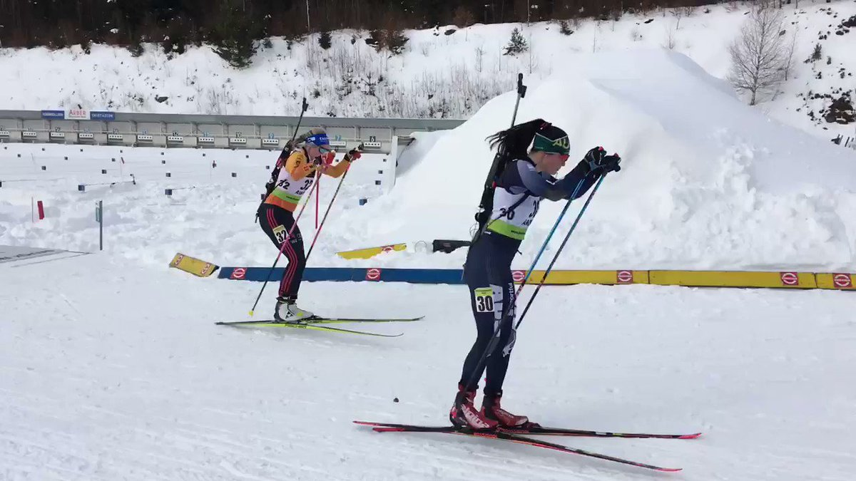 A Weidel clears her first standing and is on the lead after shooting 2 IBUCup https://tco/X3Mo2r3GMT