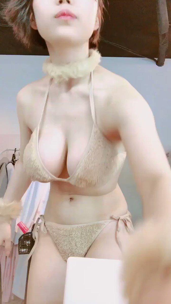 Beauty Girl Asia Lori Try on haul Bikini 08