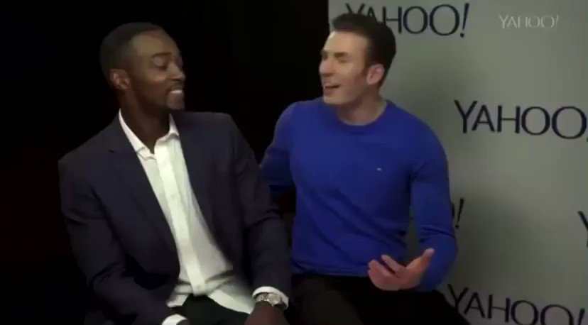 i just love love LOVE when chris evans laughs with his whole body it's my favorite thing ever