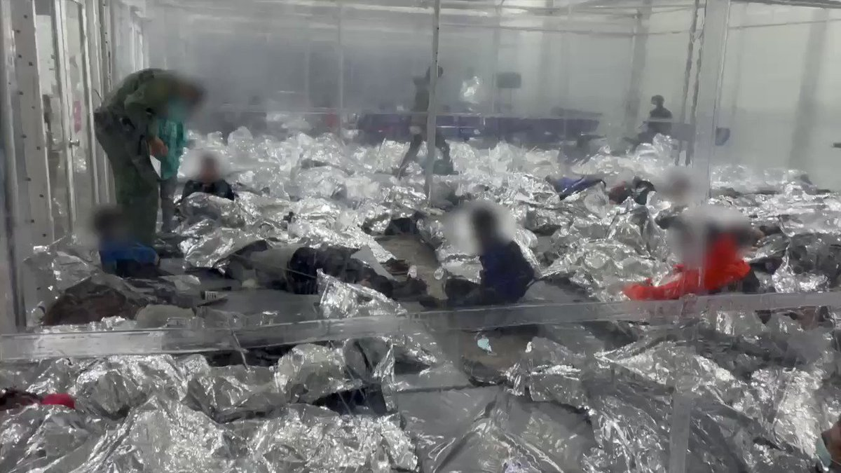 🚨 I visited the Donna processing facility yesterday.  These are the videos Joe Biden & Kamala Harris don't want you to see.  This is the devastating result of their disastrous left-wing immigration agenda.  RT so everyone can see what they're trying to hide. This is child abuse.