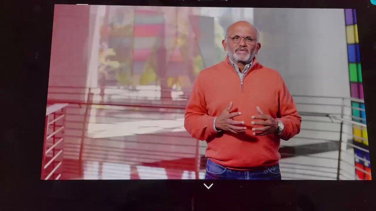 JimLundy: @adobe Summit - opening comments - from CEO Shantanu Narayen #adobesummit https://t.co/umRx7Wibao