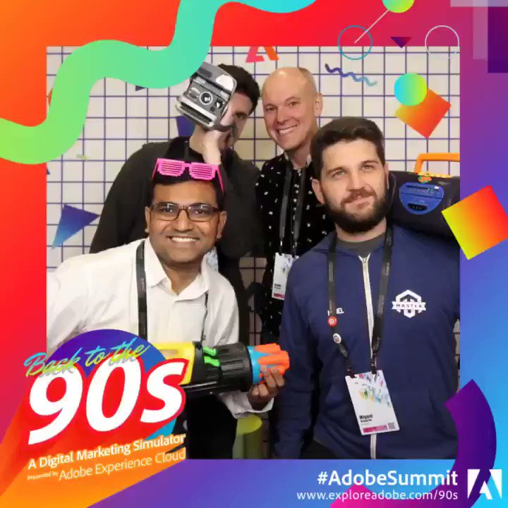 brentwpeterson: Already missing the #AdobeSummit and all the fun we had this year and two years ago. @brittanycarnes https://t.co/cqNHaMwx0h