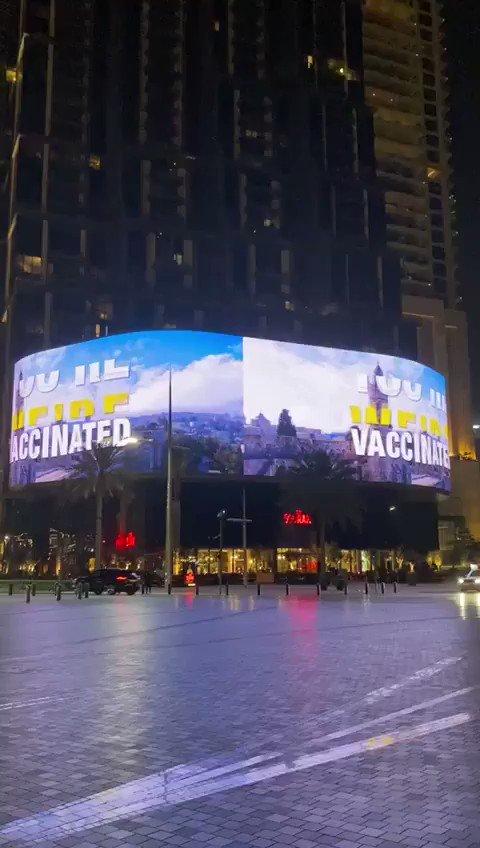 Reclame in Dubai: 'Boek een vakantie naar Israël' https://t.co/omfG5iedbR