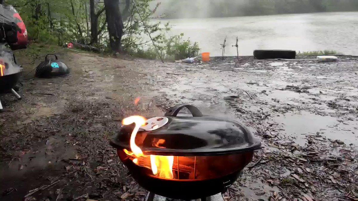 #carp #fishing in the <b>Rain</b> ftw 💪💪💪  #carpfishing #fishinglife #angling #ribolov #slo
