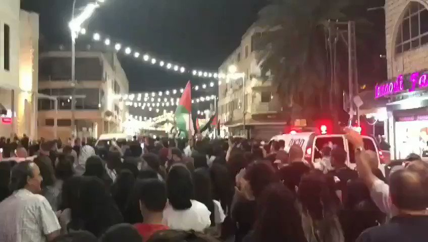 Nazareth City, in solidarity with Palestinians from Jerusalem and Gaza   #JerusalemUnderAttack  #GazaUnderAttack  #AlAqsaMosque  #AlAqsaUnderAttack https://t.co/pRXgfVuvEr