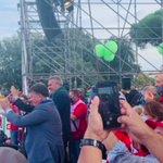🔴⚙️ #MAIPIUFASCISMI La manifestazione nazionale di #Cgil Cisl Uil termina sulle note di #BellaCiao 🚩 https://t.co/dmHCZviFBc