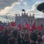 #MAIPIUFASCISMI Ancora qualche momento dell'imponente manifestazione di oggi! La #Fiom c'è! https://t.co/j8aQchQbQ9