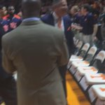 Bruce Pearl takes a moment of reflection while being announced here. http://t.co/YSsslm6vsR