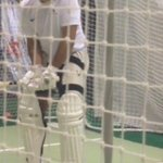 RT @EbbaQ: Videoed @AzharMahmood11 practicing - From behind the nets just few days ago @ICCAcademy