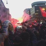 Le cariche della polizia a piazzale Flaminio contro i manifestanti di #MaiConSalvini http://t.co/5cICAjYBv0 via @Alessio_Barbati #LegaNord