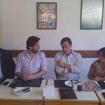 Los comerciantes del Paso Molino con @GarceAlvaro. Una zona que debe ser impulsada para el desarrollo de Montevideo http://t.co/H0YU6ydhYa
