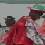 First Lady, Patience Jonathan, tells PDP supporters to stone those who are demanding for change. #NigeriaDecides http://t.co/jfMOEv6efF