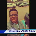 """""""@WORIDSTARHlPHOP: Nigger news at iHOP yesterday 😂 http://t.co/LbF0r6scLg"""" so ignant 😂😂😂😂😂😂"""