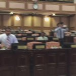 Happening now at #Maldives parliament. Protest to release president Nasheed. #ITBBerlin #ITB2015 #NasheedUnderArrest http://t.co/AhUrSGx6wW