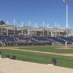 Playball! Oh, it feels so good to tweet that. #FirstPitch #CactusCrew http://t.co/Xw8uawmFhW