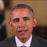 """""""Rest in peace, Father Ted."""" President Obama recorded a special message for Fr. Hesburgh tribute. http://t.co/LDUlwmGVZG"""