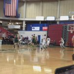 Marcus Montag hits a runner early in the second quarter. #HardwoodClassic http://t.co/FnkcdWBfu5