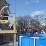 .@LtGovCalley takes the Polar Plunge for @SpOlympicsMI! http://t.co/X7XEZLyC28
