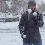 Snowball juggling anyone? #snowdaydc @theHillisHome @PoPville @ahhhhtahh http://t.co/wZJhJBA6Fu