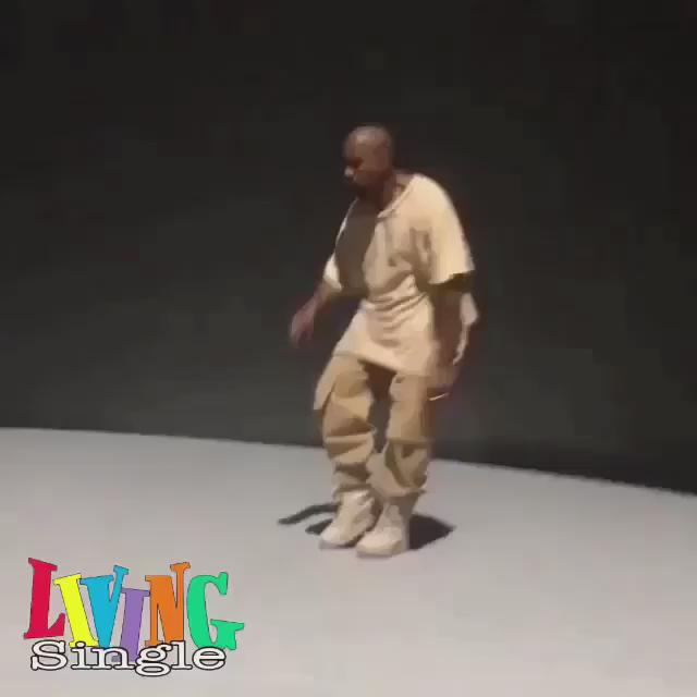 Ok ok. This might be the best #dancingkanye.