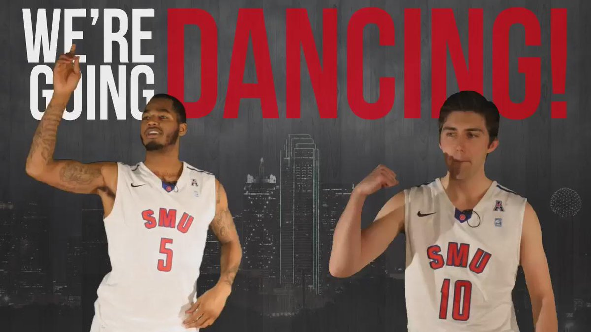 We're going dancing! @SMUBasketball is a six-seed seed and will face UCLA on Thursday. #DeclareSMU http://t.co/HXSHXY7Rlo