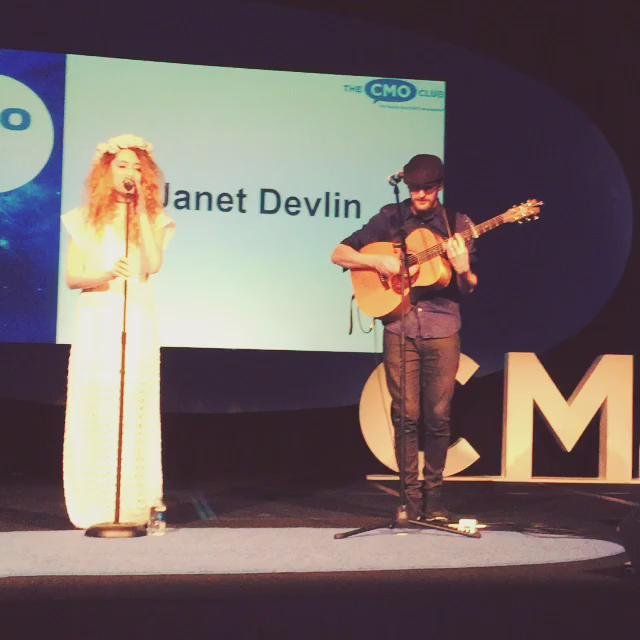 @JanetJealousy performing for #CMOs at the #CMOclubSummit before we break for lunch http://t.co/yDvlNXY6CI