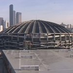 """Long live the Kingdome """"@Seahawks: Paving way for a new stadium 15 years ago to the day. #TBT #OTD http://t.co/9aHfSofNgJ"""""""