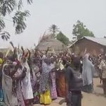 """""""@aminugamawa: women of Borno showing support for democracy & change. #Nigeriadecides http://t.co/kc2lcg0NrE"""" @Arafat__B see our jam."""