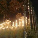 "A sones de ""Salve Estrella"" esta a punto de entrar la Virgen en la Capilla. http://t.co/IFe0avdfhb"