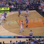 #ThunderHustle. Watch Kyle Singler with the steal, go behind the back and find Dion Waiters. #ThunderBasketball http://t.co/n0px1g96cU