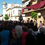 Sones de @AMJuncal abriendo el cortejo de @hdadstagenoveva en este #LunesSanto http://t.co/5rb9p5c7Aq
