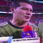 Las declaraciones de Edgar Melitón al concluir el juego de @miseleccionmx con quien debutó. @Carlos8Reinoso @maldoga http://t.co/CJmTHB2AcC