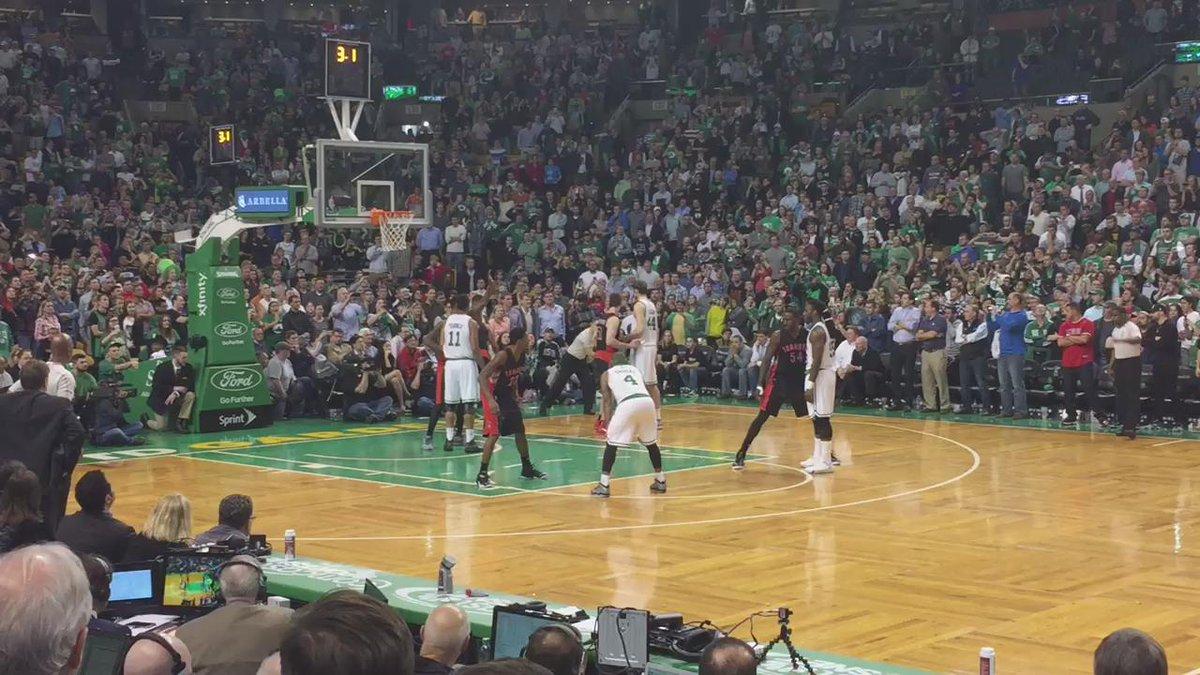 Jae Crowder for the game-winner! Celtics win, 95-93! http://t.co/BT6Vs8iwN5