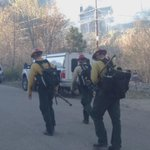 Crew from National Park Service headed back to work on Miami Fire #mtlemmon #tucson http://t.co/gMPlKFNh0F