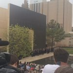 """""""How Great Thou Art"""" at OKC National Memorial. #20Years http://t.co/GgJoc934Nx"""