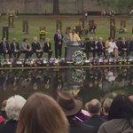 20th Annual Remembrance Ceremony #OklahomaCityBombing #oklahomastandard #America #20yearslater #protectthepack http://t.co/b1W8u6jMmO