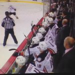 Another great bench shot of the game-winner. #ANAvsWPG http://t.co/kzZKOR4HKg