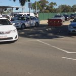 Over 200 cabs start leaving Perth Airport to protect against @Uber_Perth - next stop parliament @9NewsPerth http://t.co/oZIVnuKzOw
