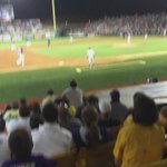 .@LSUbaseball emphatically puts a stamp on it. They are clearly No 1. Beat A&M 9-6 to take the series. http://t.co/HFQgjwm3Ml