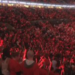 Wow. Props to @trailblazers for the glow sticks. That looks awesome. @WMCActionNews5 http://t.co/q4h58IgWIb