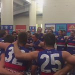 "Loud and proud boys...""Sons of the West! Red, white and blue!"" #bemorebulldog http://t.co/kb33BySLi2"