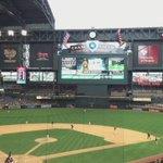 An outdoor baseball game becomes an indoor baseball game. #BlameItOnTheRain http://t.co/TjgFbUjbZd
