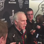 Joel Quenneville talks about Corey Crawfords return to the net and the lift it gave the Blackhawks @WGNNews http://t.co/sXyb66OteT