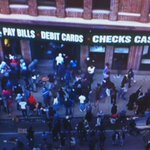 Looting continues in Baltimore. Check cashing store hit hard. @nbcwashington http://t.co/qAshFoEXh5