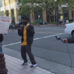 """Oakland is with them!"" Protesters at #Oakland federal building in solidarity with #Baltimore & #FreddieGray http://t.co/oWPaKhIoWj"