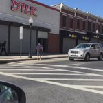 #BaltimoreRiots day 2: looting in broad daylight. Just shot this with my phone http://t.co/dmrkXcKaW0