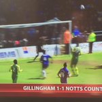 #Gills goal that probably means @Official_NCFC will be relegated to League Two. #Notts http://t.co/x40xdxa5x2