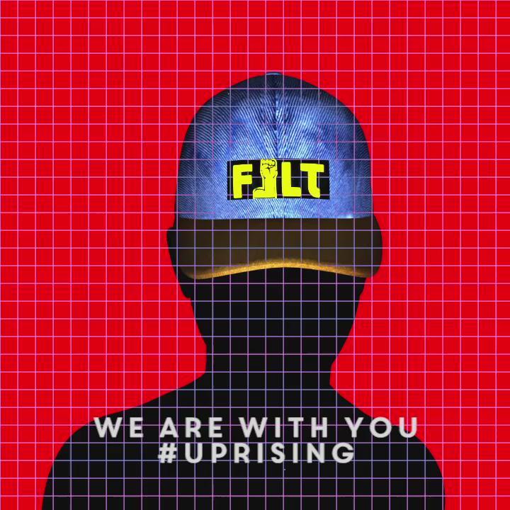 NEW ART ALERT: #Uprising VOL 1  Art Direction: @FeltZine  Music: @MHG5MG / @G5MusicGroup   #BaltimoreUprising http://t.co/UWuMkrhnru
